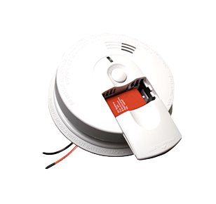 red safety home smoke-alarm