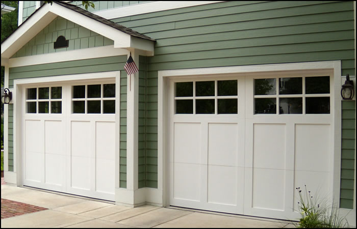 carriage garage doorcarriagestylewoodpaintedgaragedoor  Fire Safety Home